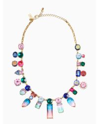 kate spade new york   Multicolor Color Crush Statement Necklace   Lyst