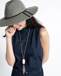 Kendra Scott - Blue Rayne Necklace In Navy Cat's Eye - Lyst