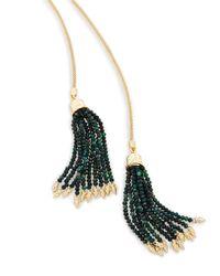 Kendra Scott - Multicolor Annora Lariat Necklace - Lyst
