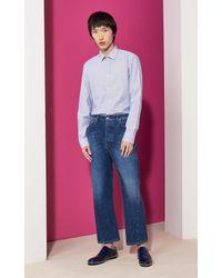 KENZO | Multicolor Stripes Business Shirt for Men | Lyst