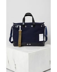 KENZO | Blue Kanvas Messenger Bag for Men | Lyst