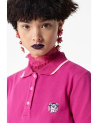 KENZO Pink Tiger Polo Dress