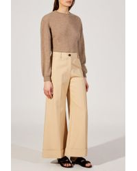 Khaite - Natural The Carine Pant - Lyst