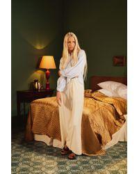 Khaite - White The Renata Pant - Lyst
