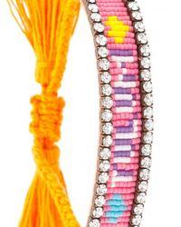 Shourouk - Multicolor Tulum Tassel Bracelet - Lyst