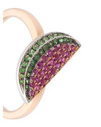 Khai Khai - Purple Watermelon Ring - Lyst
