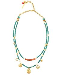 Lizzie Fortunato | Green Tahitian Cowgirl 2 Necklace | Lyst