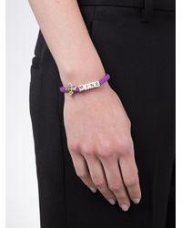 Venessa Arizaga - Purple Taco Night Bracelet - Lyst