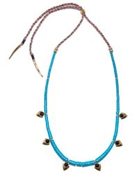 Lizzie Fortunato | Blue Simple Necklace - Turquoise | Lyst