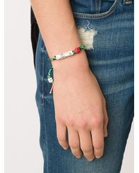 Venessa Arizaga - Multicolor Love Bug Bracelet - Lyst