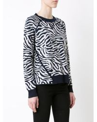 Adam Lippes - Multicolor Contrast Detail Jumper - Lyst