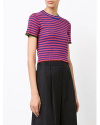 Proenza Schouler - Multicolor Striped Knit Top - Lyst