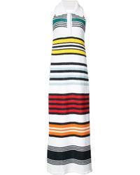 Rosie Assoulin | Multicolor Striped Halter Dress | Lyst
