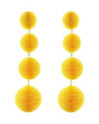 Rebecca de Ravenel - Les Bonbons Yellow Earrings - Lyst