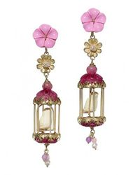 Of Rare Origin - Multicolor Aviary Classic Earrings - Lyst