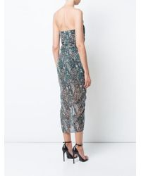 Veronica Beard - Multicolor Peyton Ruffled Printed Silk-chiffon Midi Dress - Lyst