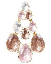 Larkspur & Hawk - Multicolor Caterina Chandelier Earrings - Lyst