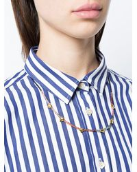 Lizzie Fortunato - Multicolor Simple Tooth Necklace - Lyst
