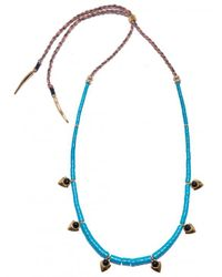 Lizzie Fortunato - Blue Simple Necklace - Turquoise - Lyst