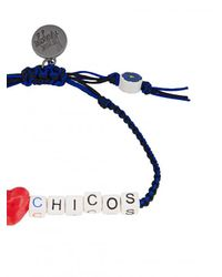 Venessa Arizaga | Blue I Love Chicos Bracelet | Lyst