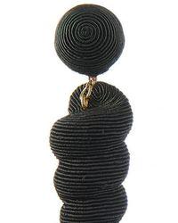 Rebecca de Ravenel - Multicolor Small Twisty Drop Earring - Gold - Lyst
