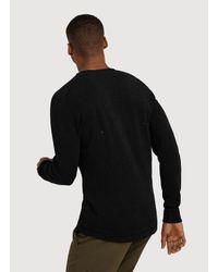 Kit and Ace - Black Olin Long Sleeve for Men - Lyst