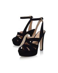MICHAEL Michael Kors - Winona Ankle Strap In Black - Lyst