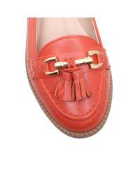 Carvela Kurt Geiger | Red List Flat Slip On Loafers | Lyst