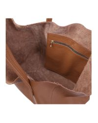 Kurt Geiger - Brown Violet Leather Tote Bag - Lyst