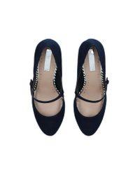 Miss Kg - Blue 'calvin' Heel Sandals - Lyst