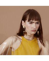 Lady Grey - Metallic Stera Earrings In Silver - Lyst