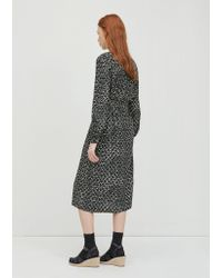 A.P.C. - Black Marguerite Dress - Lyst