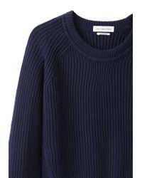 Étoile Isabel Marant - Blue Base Ribbed Knit - Lyst