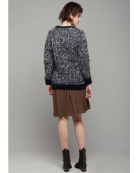 MM6 by Maison Martin Margiela - Multicolor Knit Cardigan - Lyst