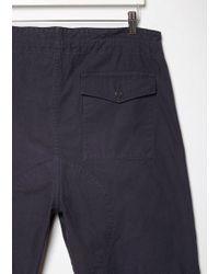 Chimala - Blue Drawstring Cargo Pants - Lyst
