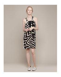 No. 6 - Multicolor Carnelian Geometric Dress - Lyst