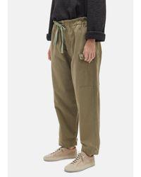 Chimala - Green Us Army Herringbone Cargo Pants - Lyst