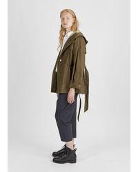 Étoile Isabel Marant | Multicolor Dolman Coated Rain Jacket | Lyst