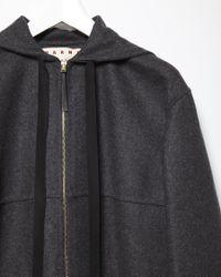 Marni - Black Wool Jacket - Lyst