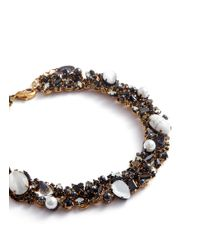 Erickson Beamon - Multicolor 'dark Shadows' Swarovski Crystal Choker - Lyst