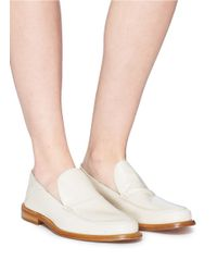 Alumnae - Multicolor Leather Step-in Loafers - Lyst