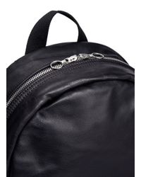 Meilleur Ami Paris - Black 'sac A Dos' Leather Backpack for Men - Lyst
