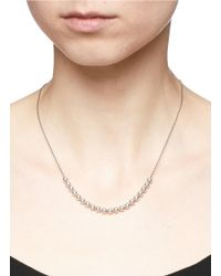 Philippe Audibert - Metallic 'anton' Sliding Bead Necklace - Lyst