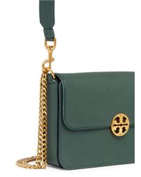 Tory Burch - Multicolor 'chelsea' Curb Chain Leather Shoulder Bag - Lyst