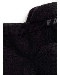 Falke - Black 'go2 Sneaker' Ankle Golf Socks for Men - Lyst