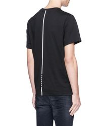 Haculla - Black 'gallery' Poster Patch T-shirt for Men - Lyst