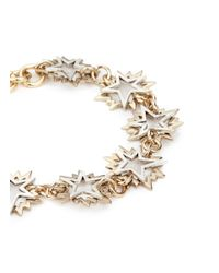 Lulu Frost - Metallic 'cosmic' Asymmetric Star Brass Bracelet - Lyst