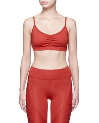 Koral | Red 'elements' Performance Sports Bra | Lyst