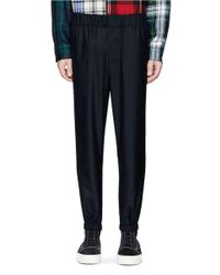 Alexander Wang - Black 'exotic Dancer' Jacquard Pants for Men - Lyst