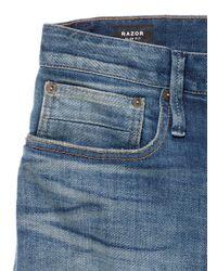 Denham - Blue 'razor' Slim Fit Jeans for Men - Lyst